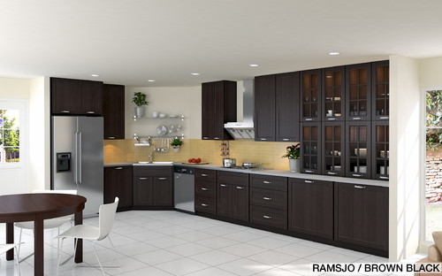 kitchen cabinets ideas ikea black brown kitchen cabinets ikea brown black kitchen cabinets sarkem. beautiful ideas. Home Design Ideas