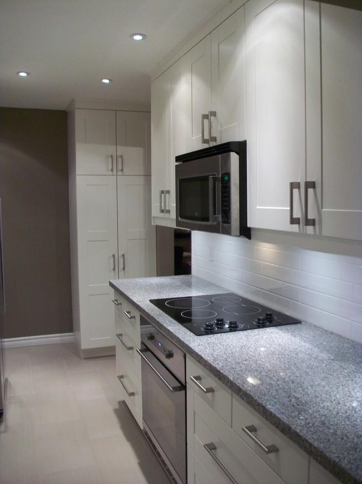 Ikea Kitchen Grimslov White Kitchen Toronto By Home Reborn Houzz