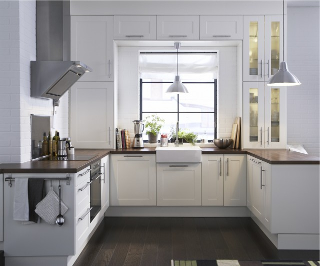 IKEA Kitchen modern-kitchen
