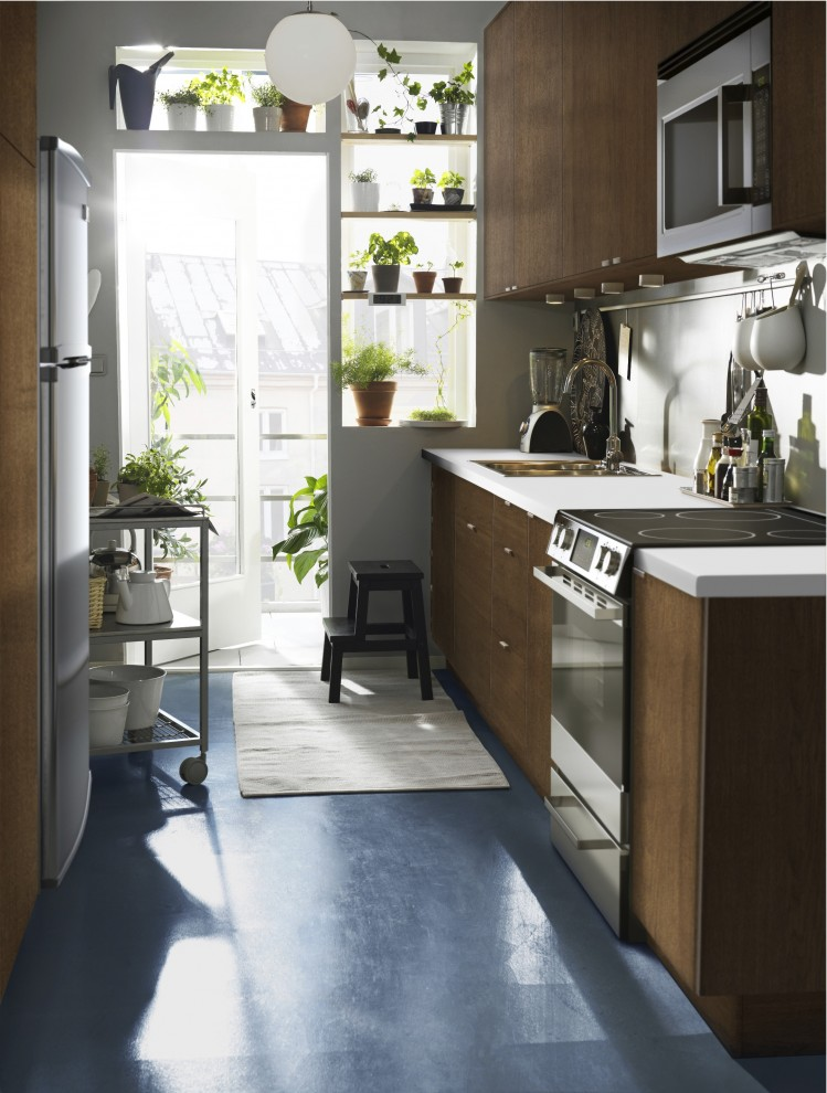 Inspiration for a modern kitchen remodel in Other