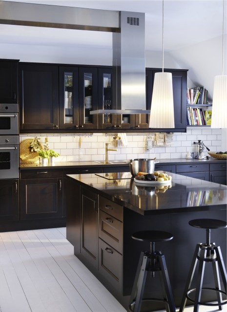 Http Www Houzz Com Photos 127373 Ikea Kitchen Modern Kitchen Other Metro
