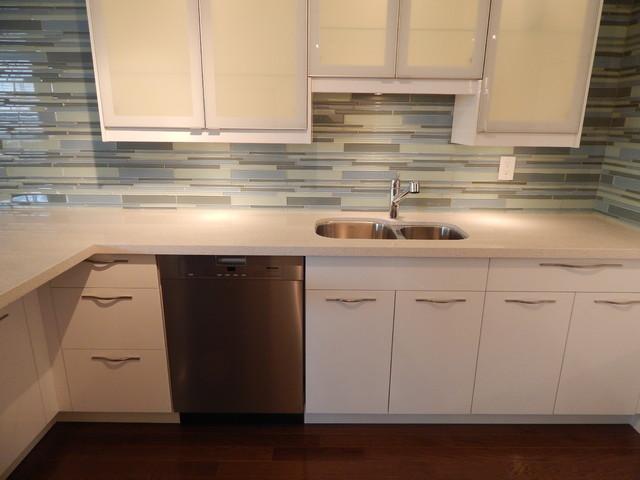 IKEA Kitchen - Ringhult White modern-kitchen