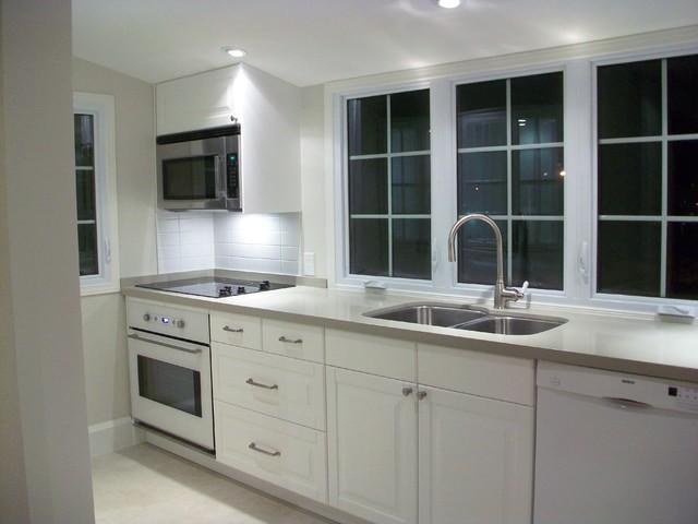 IKEA Kitchens - Bodbyn White