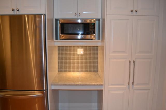 IKEA Kitchens - Lidingo White and Ramsjo Black-Brown