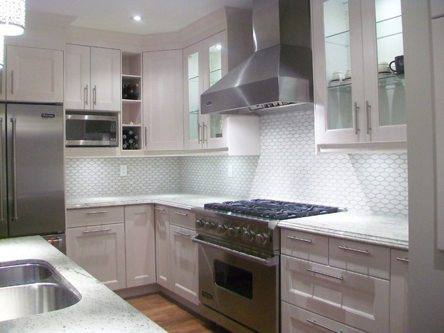 IKEA Kitchens - Ramsjo White
