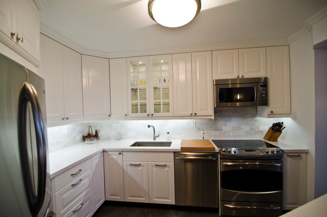 white kitchen cabinets toronto ikea lidingo white and ramsjo black condo litchen 28952