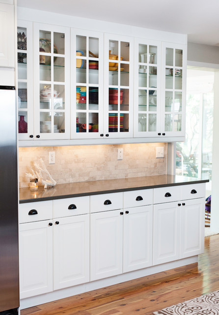 IKEA Lidingo White Kitchen - Contemporary - Kitchen - nashville - by ...