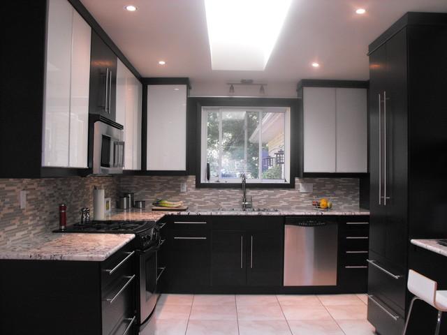 Ikea Nexus Black Brown  My House modern kitchen