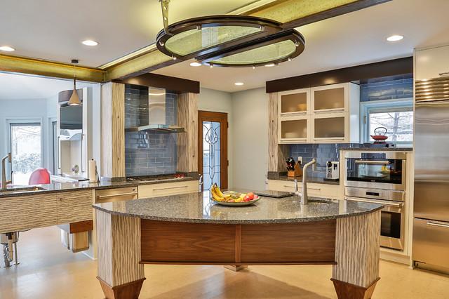 Kitchen Breakfast Nook On Balfour Grosse Pointe Park MI Contemporary