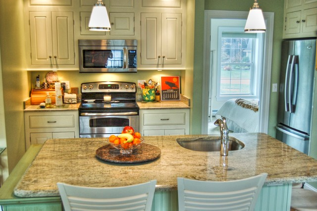 In law apartment traditional kitchen portland maine by gulfshore design - Kitchen design portland maine ...