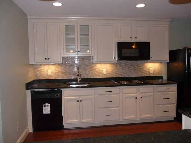 In Law Suite Basement Kitchen Traditional