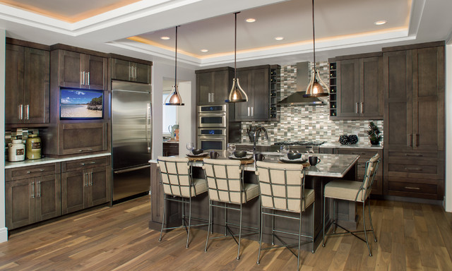 In Vogue with Grey - Contemporary - Kitchen - Calgary - by ...
