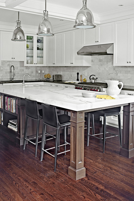 Indian Grove Kitchen Traditional Toronto By