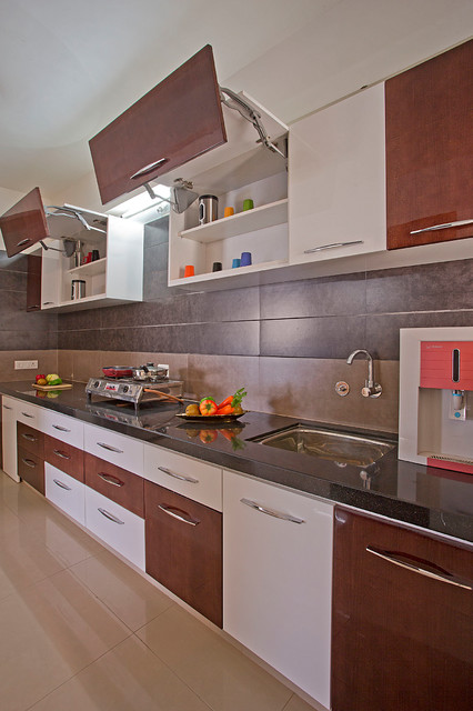 Modular cabinets kitchen indian kitchen ahmedabad for Modular kitchen cupboard