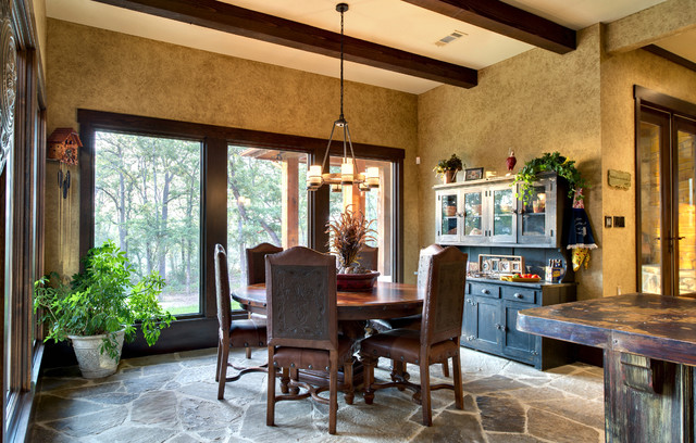Indian Lakes, Mountain Lodge Style rustic-kitchen