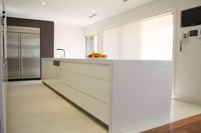 Indoor Floor Tiles Contemporary Kitchen Sydney By Classic