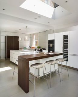 Indoor/ Outdoor Living - Contemporary - Kitchen - Cheshire
