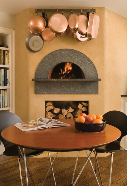 Indoor Wood Fired Pizza Ovens - Eclectic - Kitchen - other metro - by Mugnaini
