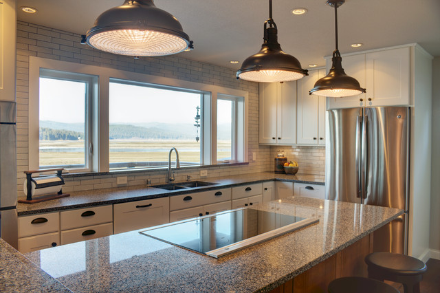 Industrial coastal home Kitchen design center virginia beach