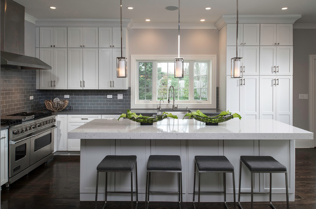 Industrial Contemporary Transitional Kitchen Chicago By Donna Mondi Interior Design