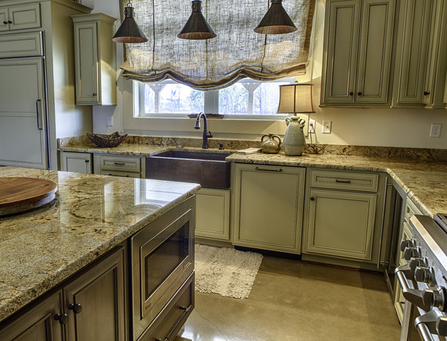 Deer Meadow Lane Project traditional-kitchen