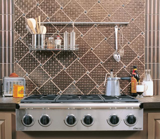 Industrial Kitchen Backsplash San