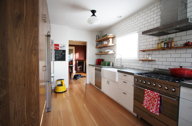 modern industrial kitchen  industrial  kitchen  portland  by,Modern Industrial Kitchen,Kitchen ideas
