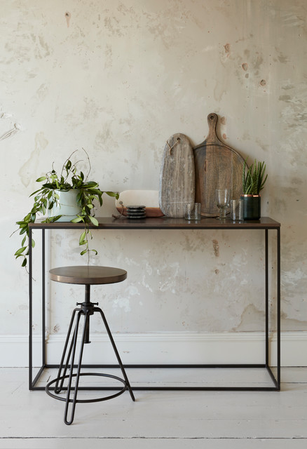 Industrial Kitchen Corner By French Connection   AW U002717 Collection Eclectic  Kitchen