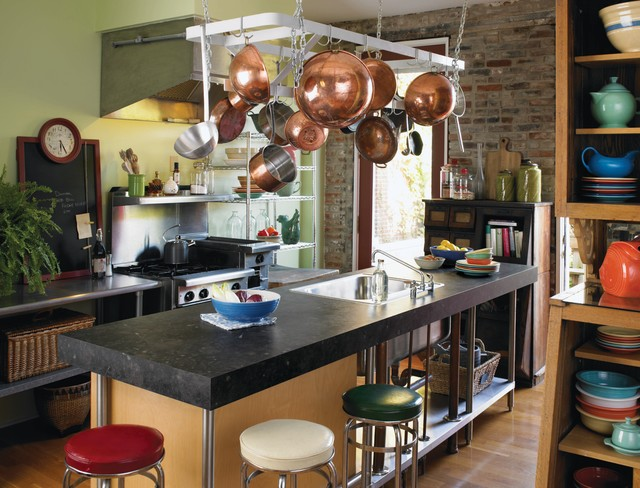 3461 Black Fossilstone 180fx By Formica Group Industrial Kitchen Boise By Formica Group