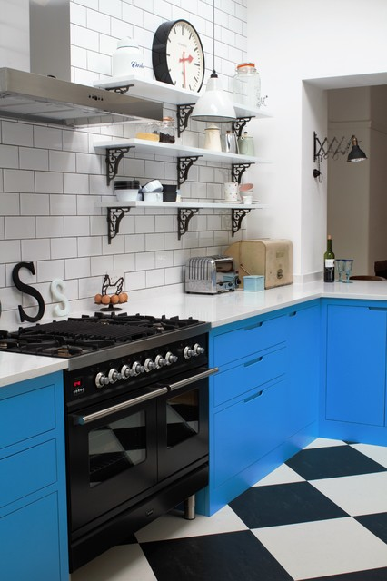 Industrial Kitchen With American Diner Feel - Industrial ...