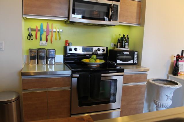 Industrial L.A. Loft eclectic-kitchen