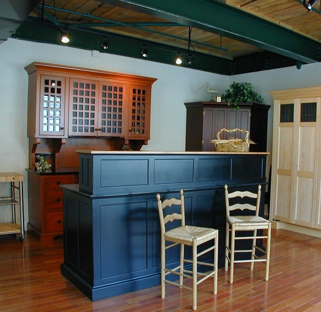 Industrial Loft Style Unfitted Kitchen Eclectic Kitchen By YesterTec De