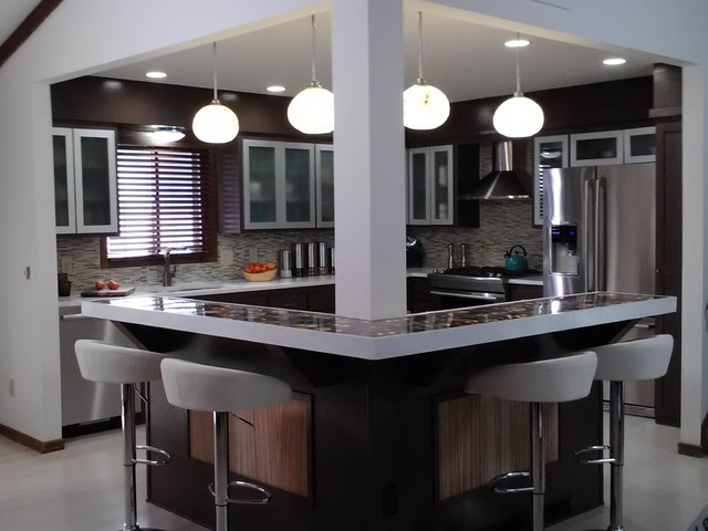 Industrial modern design modern kitchen other metro by kelli kaufer designs Modern kitchen design ideas houzz