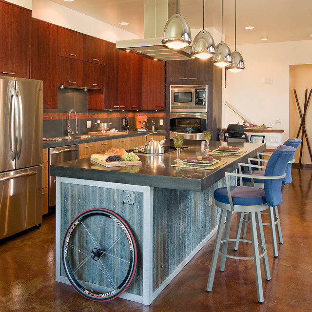 Industrial Modern Industrial Kitchen Denver By