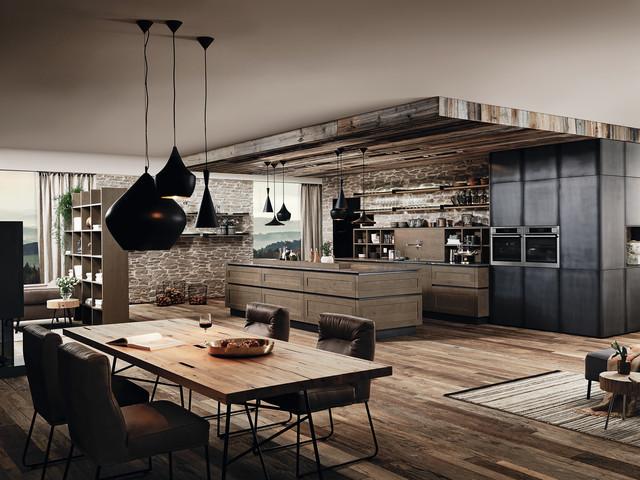 Charmant Industrial Oak Kitchen Industrial Kitchen
