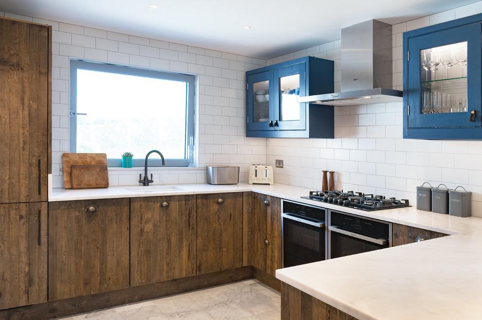 Rustic Kitchen With Doors