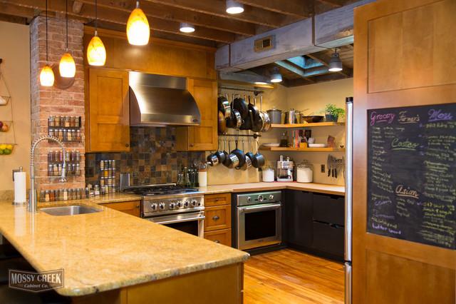 Industrial style kitchen - Industrial - Küche - Richmond - von MOSSY ...