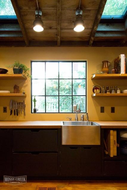 Industrial style kitchen industrial kitchen other for Industrial style kitchen uk