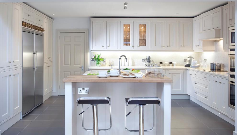 Inframe Hand Painted Kitchen