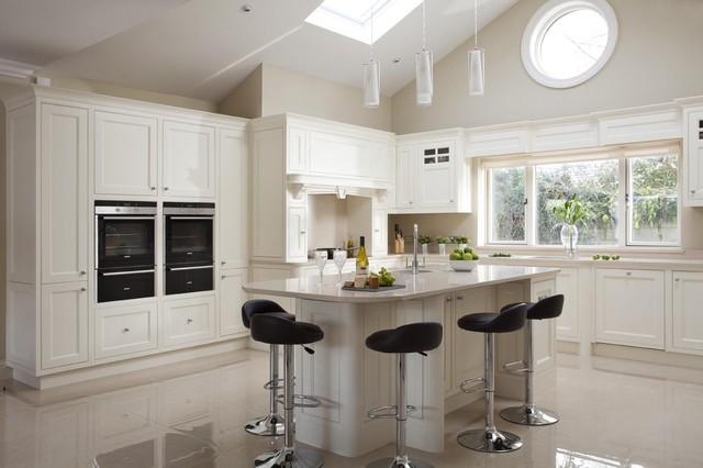 Inframe kitchen carmel and frank contemporary kitchen for Kitchen design ireland