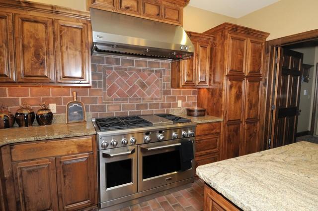 Inglenook Tile Design traditional-kitchen