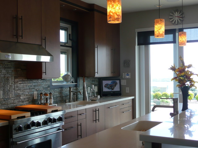 Inglewood Terrace Residence - Contemporary - Kitchen ...