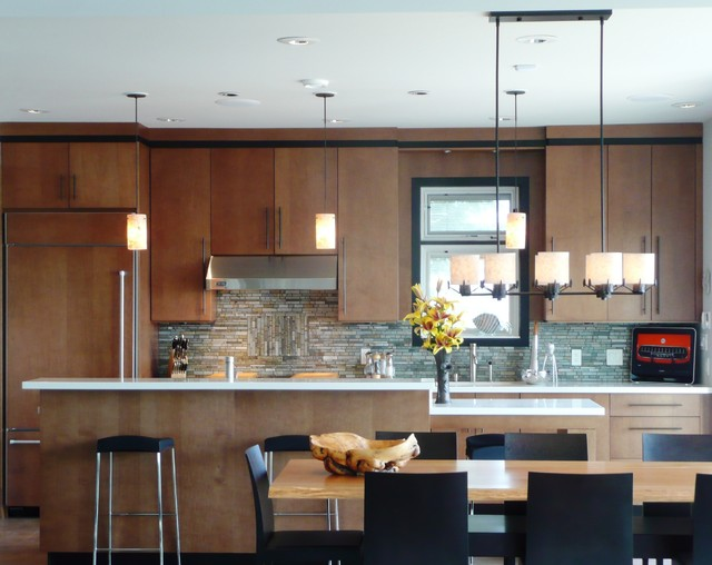 Inglewood Terrace Residence modern-kitchen