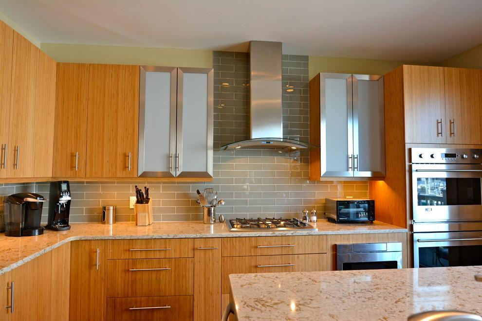 Inner Harbor Contemporary Kitchen - Contemporary - Kitchen ...