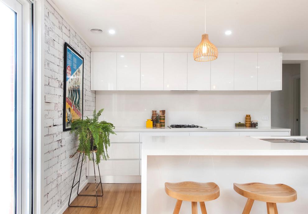 Inner North - Duplex extensions - Midcentury - Kitchen ...