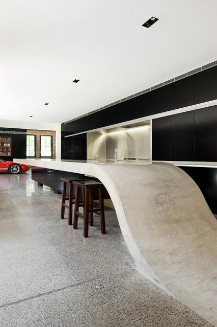 INNER WEST WAREHOUSE Contemporary Kitchen