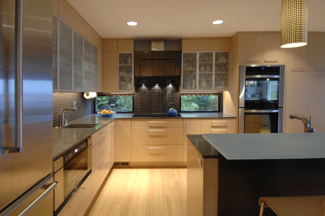 Innis Arden Remodel contemporary-kitchen