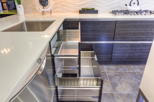 Innovative Kitchen Design Contemporary With Aluminum Accents