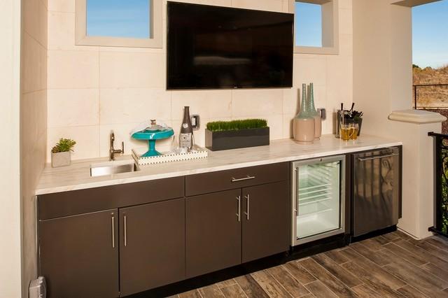 Innovative Outdoor Kitchens   Metallic Bronze Matte   Hampton Kitchen