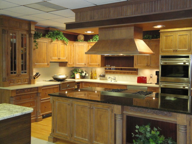 Inset Cabinetry traditional-kitchen